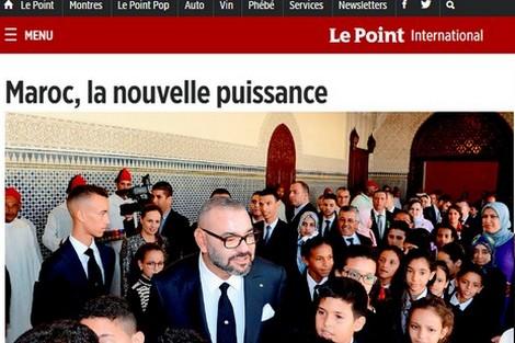 """اسبوعية """"لوبوان"""" الفرنسية: المغرب.. القوة الجديدة"""