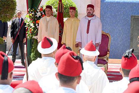 جلالة الملك يترأس بطنجة حفل استقبال بمناسبة عيد العرش المجيد