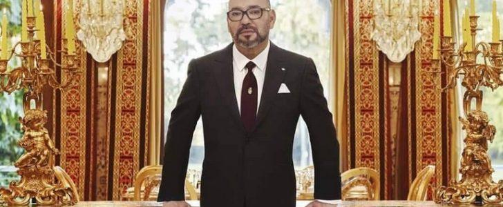الملك يتحدث عن انتصار المنتخب الجزائري بكأس أفريقيا وهكذا فسره سياسيا