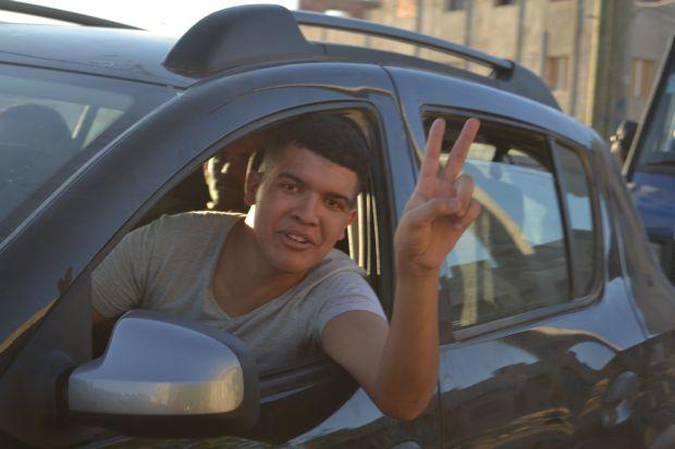 صور ..العهديون بالدريوش يدشنون أكبر حملة إنتخابية إستعدادا للإنتخابات التكميلية