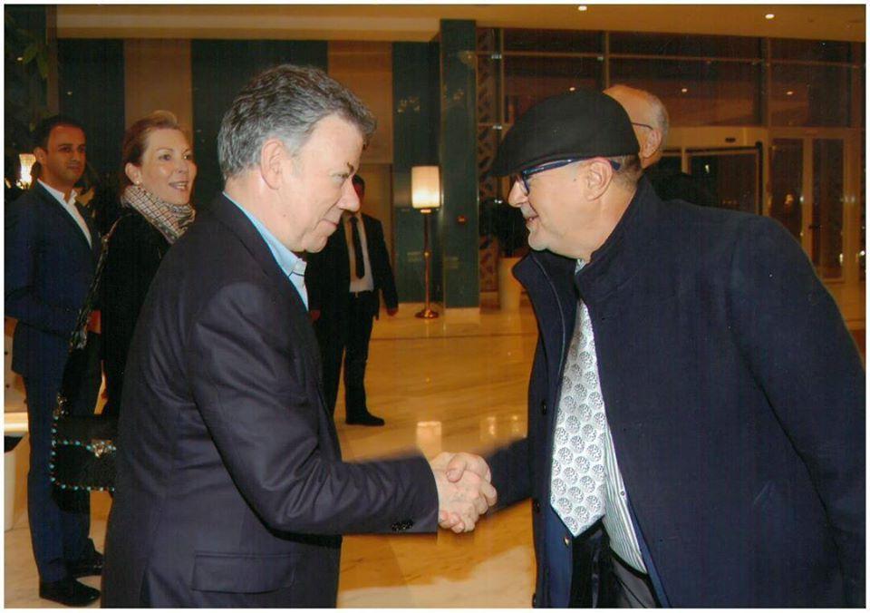 الرئيس الكولومبي ينوه بالتجربة الديمقراطية المغربية وبالإصلاحات التي عرفتها المملكة المغربية خاصة بعد الإعلان عن دستور 2011 من طرف جلالة الملك محمد السادس