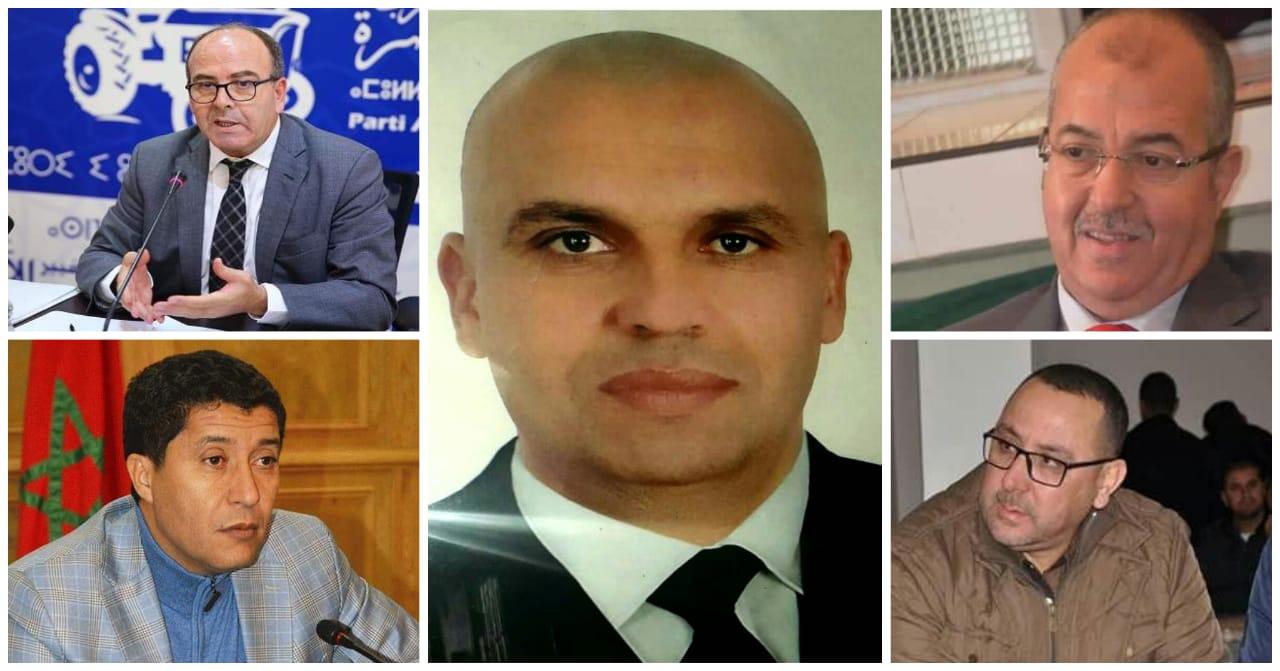 """بنشماس ومكنيف وبعيوي وآخرون يهنؤون """"رشيد حسان باباح"""" على فوزه بالإنتخابات الجزئية الخاصة بغرفة الفلاحة"""