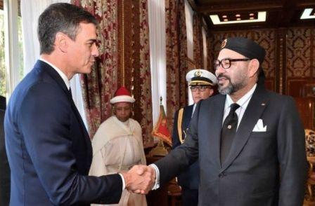جلالة الملك يهنئ بيدرو سانشيز بمناسبة نيله ثقة البرلمان كرئيس للحكومة الإسبانية