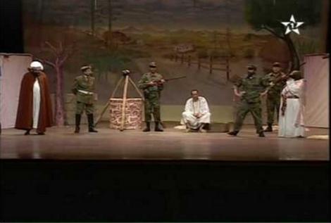 -ممرات ودهاليز المسرح في الناظور مضاءة بنور خافت لا ينير. أو حين يكون المسرح ، فعلا اجتماعيا مؤجلا..