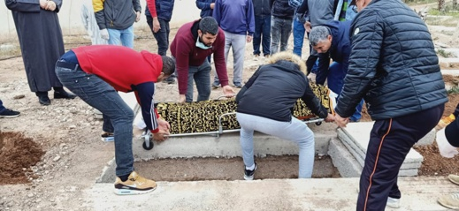 """تشييع جنازة الزميل """"حمادي مرسق"""" في جو استثنائي بمقبرة الناظور"""