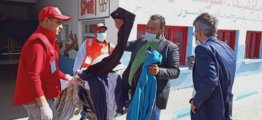 خيرية الناظور تساهم بمبادرة إيواء الأشخاص في وضعية الشارع لحمايتهم من فيروس كورونا