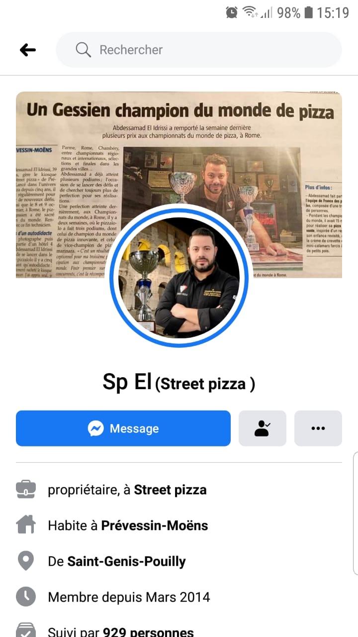 عبدالصمد الادريسي بطل العالم في البيتزا: من داخل الحجر الصحي من فرنسا