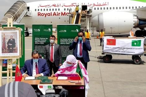 المساعدات الطبية المغربية..مبادرة ملكية ملموسة تجسد التضامن الإفريقي
