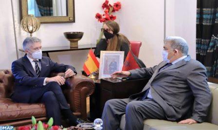 """وزير الداخلية الإسباني : التنسيق مع المغرب """"في أفضل حالاته"""" حاليا"""