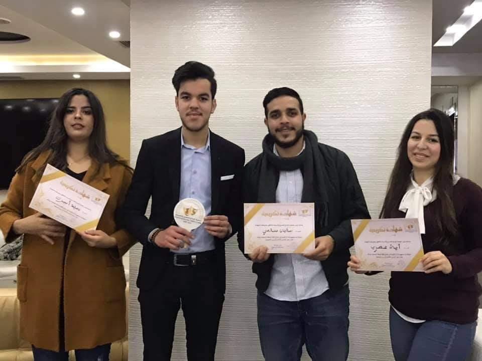 جمعية الإبداع تحتفل بالذكرى الثالثة لتأسيسها وتكرم أعضائها ومنخرطها.