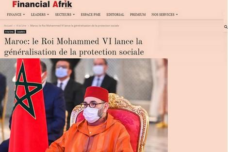 """فينانشال أفريك : تعميم الحماية الاجتماعية """"مشروع رائد في إفريقيا والعالم العربي"""""""