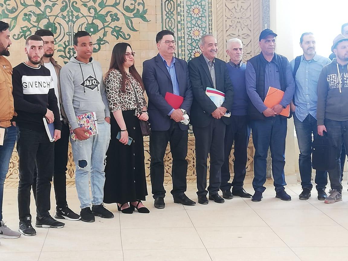 الشاعر سعيد الموساوي ضيفا خفيفا على شعبة الدراسات الأمازيغية بالكلية متعددة التخصصات بالناظور