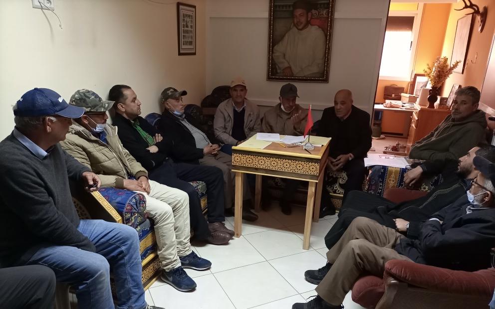 تجديد مكتب جمعية عبد الكريم الخطابي للقنص والرماية بالعروي متابعة