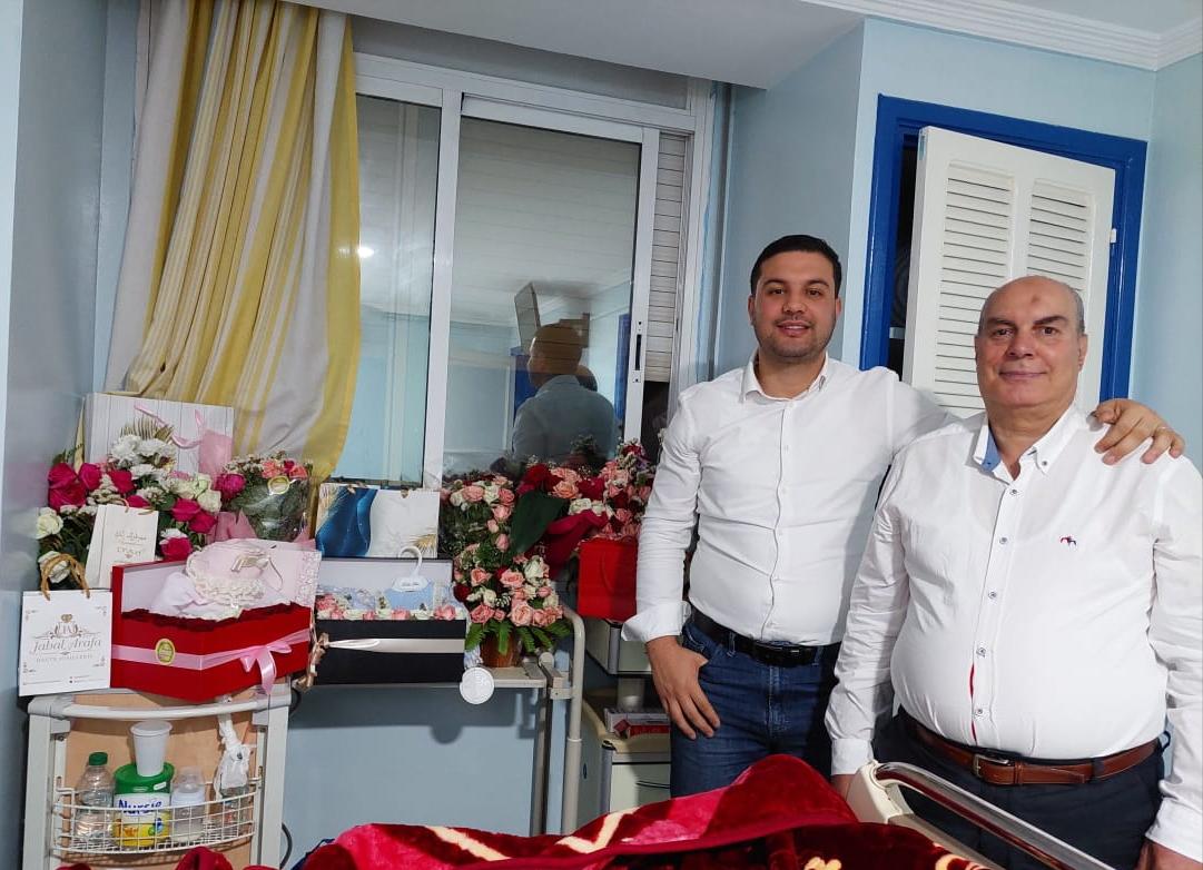 تهنئة بمناسبة ازدياد مولودة جديدة في بيت الاستاذ عبد الحميد القضاوي