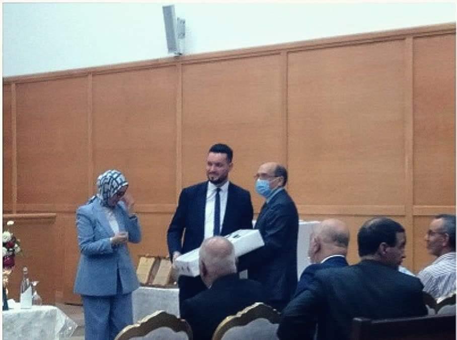 بالصور: تكريم القاضي سليل بنطيب يوسف أسبول بمحكمة وجدة بعد تعيينه مستشارا بمحكمة الإستئناف بالحسيمة