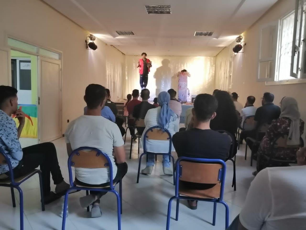 """الدريوش : عرض مسرحية """" أوار ن دجيراث """" يبهر جمهور ثازيري باتسافت"""