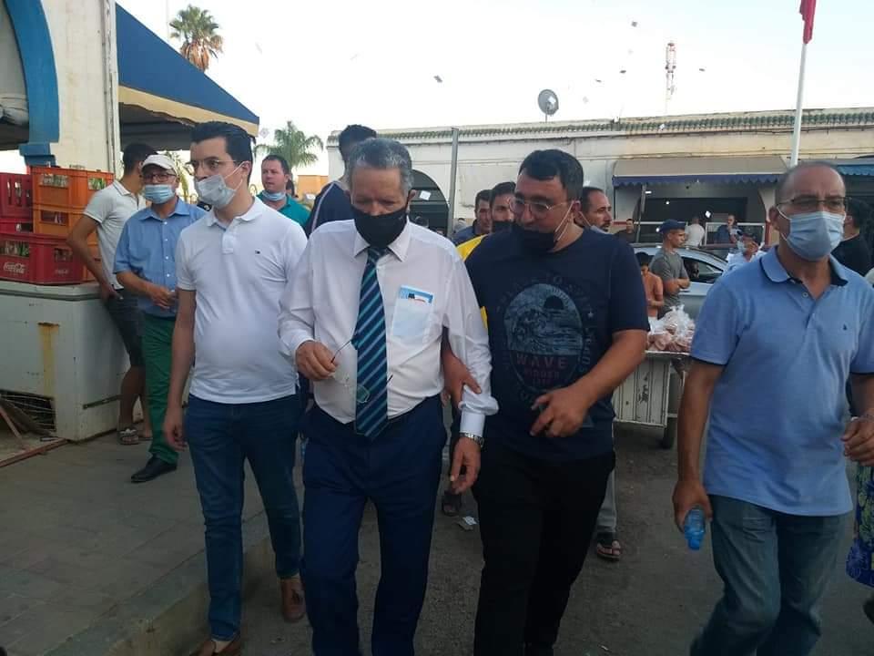 """وسط ترحيب ودعم كبيرين.. البرلماني محمد الفاضيلي يقود حملة حاشدة لمرشحي """"السنبلة"""" للغرف المهنية بإقليم الدريوش"""