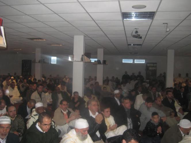 المركز الإسلامي عبد الله إبن مسعود ببلدية فوري بالعاصمة البلجيكية بروكسيل يحتفل بعيد الأضحى المبارك.