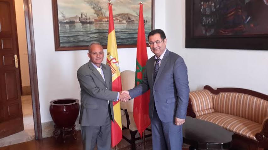 تعزيز علاقات التعاون و الشراكة بين بلديتي الحسيمة و مالقا