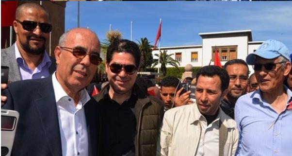 فعاليات سياسية وجمعوية ومدنية بإقليم الدريوش تبصم على حضور وازن في مسيرة الرباط