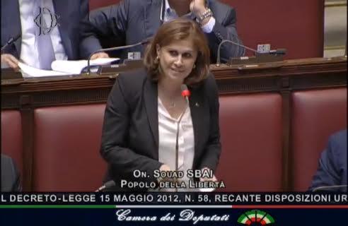سعاد السباعي تطالب السيناتو الإيطالي بقانون جنسية واقعي لأبناء المهاجرين