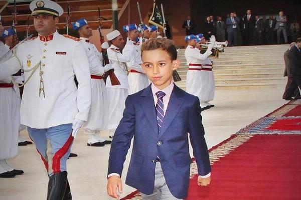 الذكرى الثالثة عشر لميلاد صاحب السمو الملكي ولي العهد الأمير مولاي الحسن