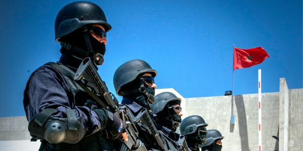 عاجل : اجهاض مخطط إرهابي خطير في طنجة + فيديو
