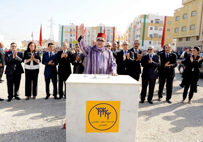 طنجة : جلالة الملك يعطي انطلاقة مشروعين تنفذهما مؤسسة محمد الخامس للتضامن