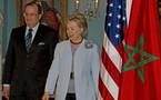 وصول كلينتون للمغرب للقاء عدد من وزراء الخارجية