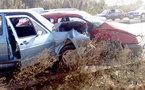 حادث عنيف يخلّف خسائر مادية بمدخل الناظور