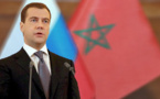 دميتري ميدفيديف يصل إلى الرباط