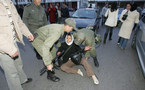 العنف يفرق وقفة تضامنية مع المعتقلين السياسيين