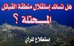 إستطلاعا للرأي يتناول حق شعب منطقة القبائل في تقرير مصيره