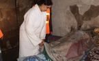 امرأة تحرق زوجها بسبب المشاكل العائلية