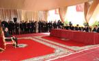 جلالة الملك يترأس مراسم التوقيع على اتفاقيتين تتعلقان بمشروع إعادة توظيف المنطقة المينائية لطنجة المدينة