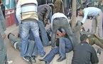 إصابة 15 معطّلا جرّاء تدخل عنيف بالحسيمة