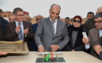 اعطاء انطلاقة لعدة مشاريع تنموية بمدينة أحفير وتفقد اوراش مشاريع في طور الانجاز