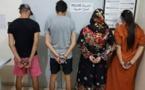 الشرطة القضائية تلقي القبض على عصابة ضمنهم نساء بالناظور و زايو