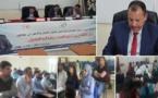 """تحت إشراف الدكتور أحمد خرطة الطالب الباحث """"عزالدين بهلول"""" يناقش رسالته في الماستر ويحصل على ميزة مشرف جدا"""