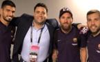 Le cadeau du FC Barcelone à un journaliste marocain