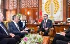 جلالة الملك يستقبل وزير الشؤون الخارجية الروسي