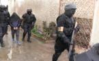 """عناصر """"البسيج"""" تفكك خلية إرهابية من 6 أشخاص كانت تسعى لصناعة عبوات ناسفة+(فيديو)"""
