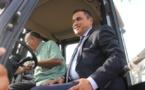 تصريح السيد سعيد الرحموني عقب منح جرافات وشاحنات جمع النفايات لجماعات بالناظور