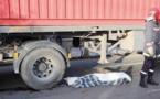 شاحنة للنقل الدولي تدهس شخصا وترديه قتيلا بالناظور