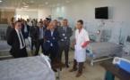 وزير الصحة وعامل إقليم  الحسيمة يتفقدان المؤسسات الصحية بالإقليم.