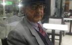 تعزية في وفاة قيد حياته عبد الرحمان الحرشي بمليلية عن عمر 72 سنة