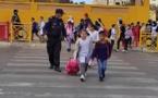 شكر خاص للشرطي جمال المكاحلي الذي ينظم حركة السير أمام مدرسة البكري الإبتدائية ببني انصار