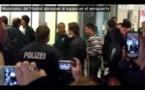 شاهد غضب مشجعي ريال مدريد على اللاعبين في مطار دورتموند