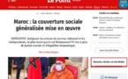 لوبوان الفرنسية : تعميم الحماية الاجتماعية يروم تحقيق المزيد من العدالة الاجتماعية والتوازن الاقتصادي