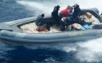 الناظور: البحرية الملكية تحبط عملية لتهريب المخدرات وتنتشل ثلاثة أطنان منها